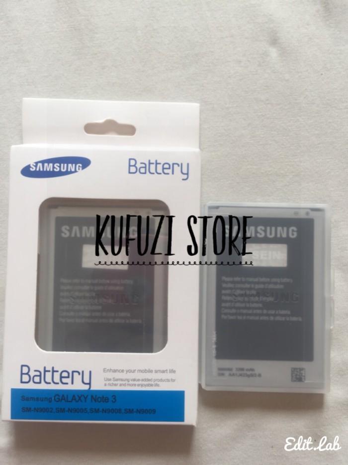 harga Baterai battery batre samsung galaxy note 3 n9000 original 100% Tokopedia.com