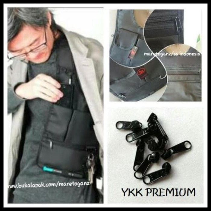 Tas Promo Gadget Pundak Bahu Army Polisi Fbi Agen 007 Bag