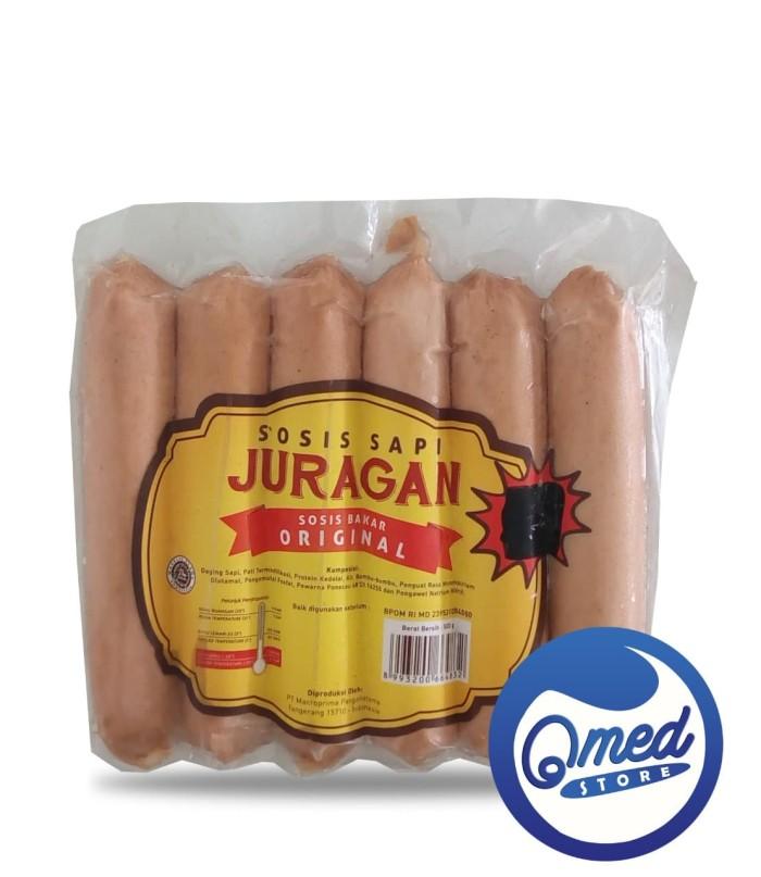 harga Juragan sosis 14 cm 500gr / cimory / sosis bakar sapi jumbo Tokopedia.com