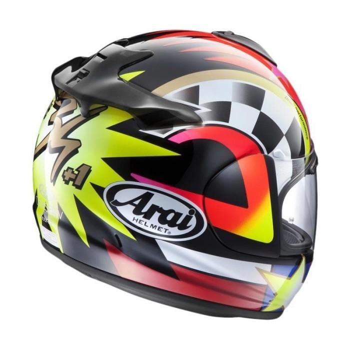 Arai Vector-X Schwantz 95 Original Helm Full Face - Graphic Black 1