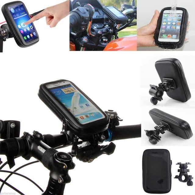 harga Holder sepeda braket hp gps pasang di spion waterproof up to 55inch Tokopedia.com
