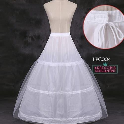 harga Petticoat wedding panjang l rok dalaman gaun (3ring 1 layer) - lcp 004 Tokopedia.com