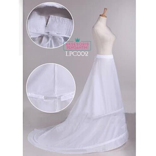 harga Petticoat bridal panjang berekor l rok dalaman gaun pengantin - lcp002 Tokopedia.com