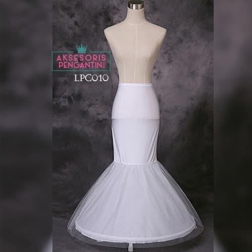 harga Petticoat wedding duyung (1ring) l rok dalaman gaun pengantin -lpc 010 Tokopedia.com
