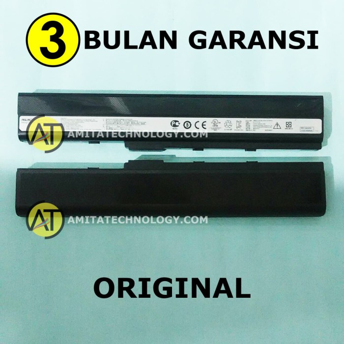 harga Baterai original asus a32-k52 a42 k42 Tokopedia.com