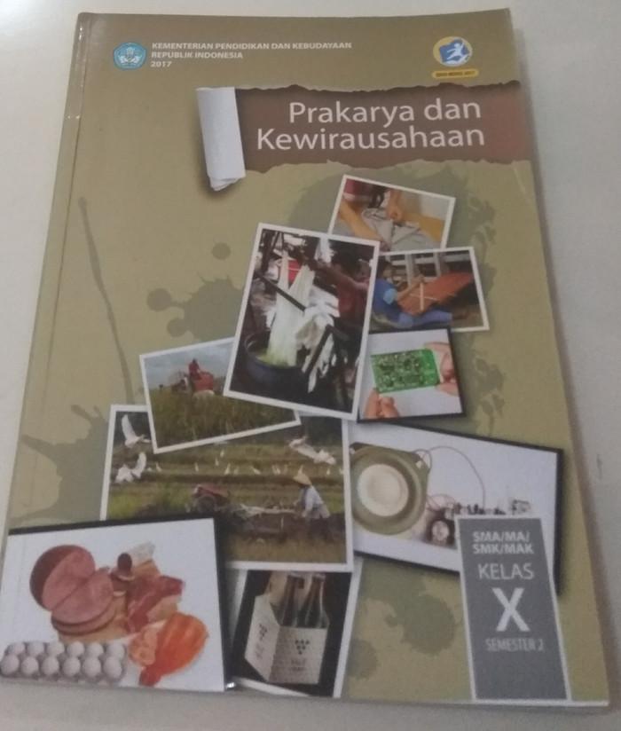 Buku Prakarya Kelas 10 Kurikulum 2013 Revisi 2016 Guru Ilmu Sosial