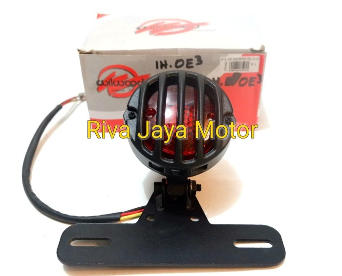 harga Lampu stop lamp cb born free grill hitam harley japstyle cafe racer dl Tokopedia.com
