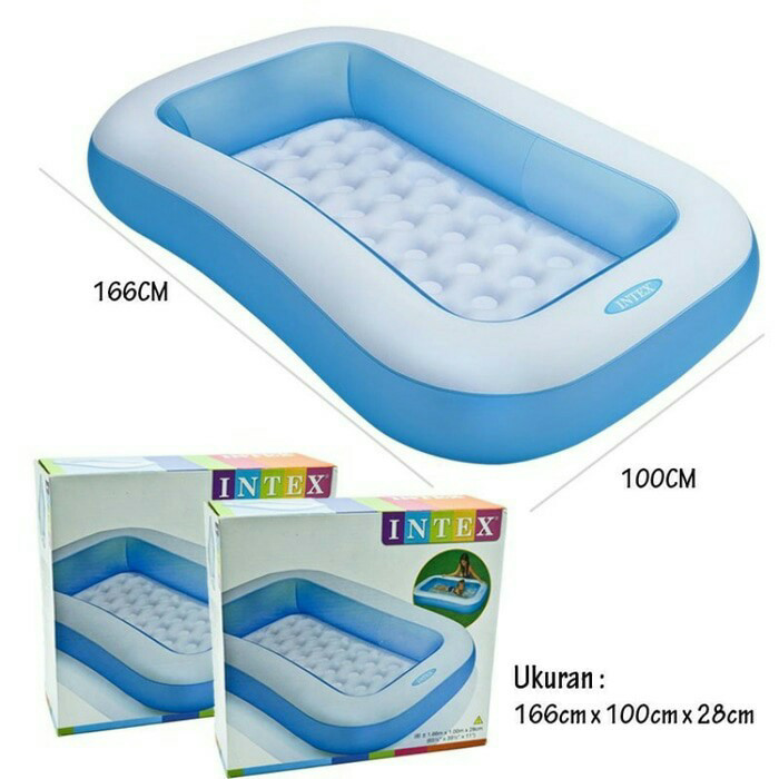 Kolam renang intex rectangular pool 57403