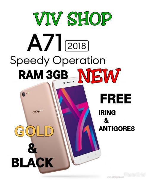 Jual Oppo A71 Ram 3gb Baru Garansi Resmi Oppo Indonesia 1 Tahun