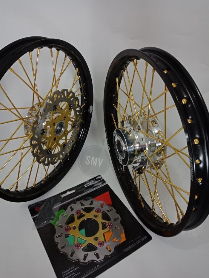 harga Velg satria fu - sonic 150 - supra gtr 150 paket jari jari excel japan Tokopedia.com