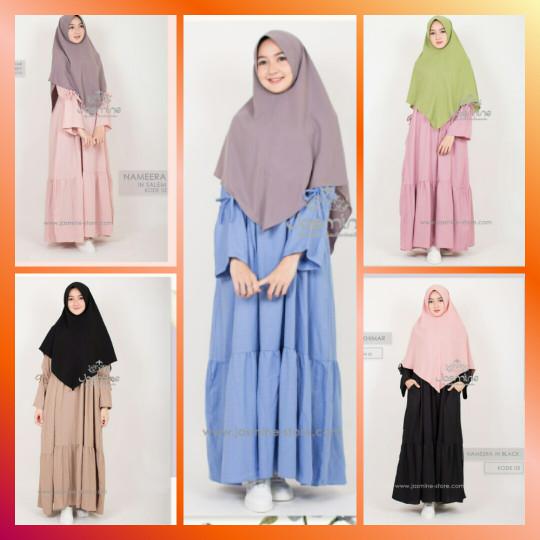 Nameera Dress - Biru Muda, L
