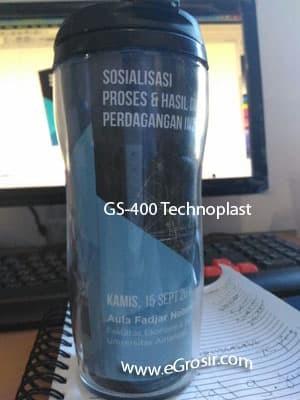 harga Tumbler promosi insert paper technoplast gs400 - polos souvenir Tokopedia.com