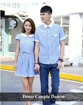 Foto Produk dress couple | dress pasangan | grosir dress termurah | dress danon dari koleksi baju couple