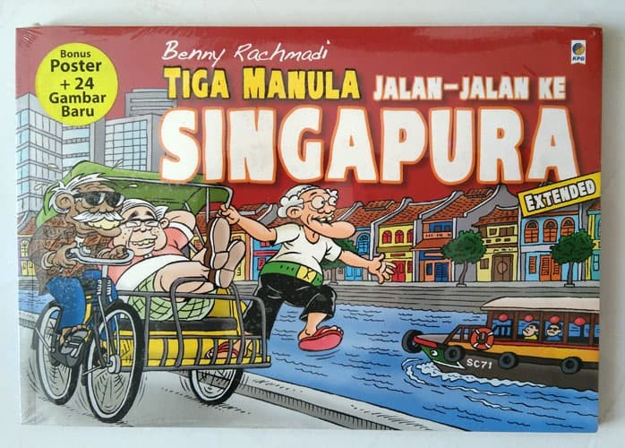 harga Komik oleh benny rachmadi - tiga manula jalan-jalan ke singapura Tokopedia.com