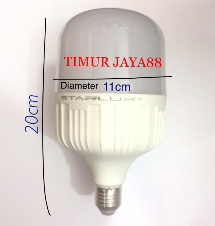 STARLUX LAMPU LED BULB JUMBO 40 WATT 40W 40WATT 40 W TERANG MANTAP