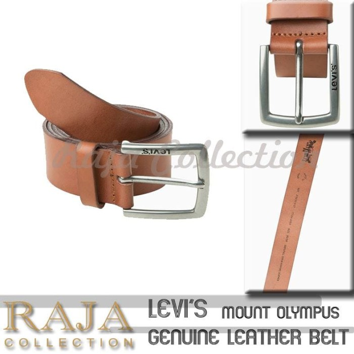 Foto Produk Levi's Genuine Leather Belt Original - Mount Olympus dari raja collection