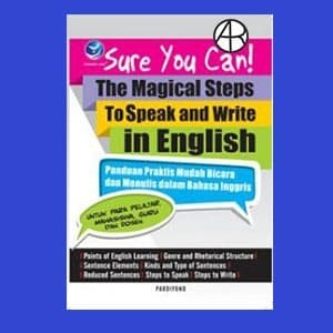 harga Sure you can! the magical steps to speak and write in english Tokopedia.com