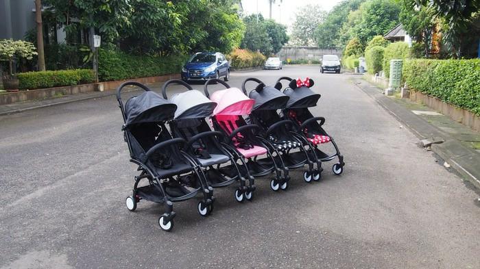 harga Gojek only: stroller lipat kecil kabin size (pockit, lightweight) Tokopedia.com