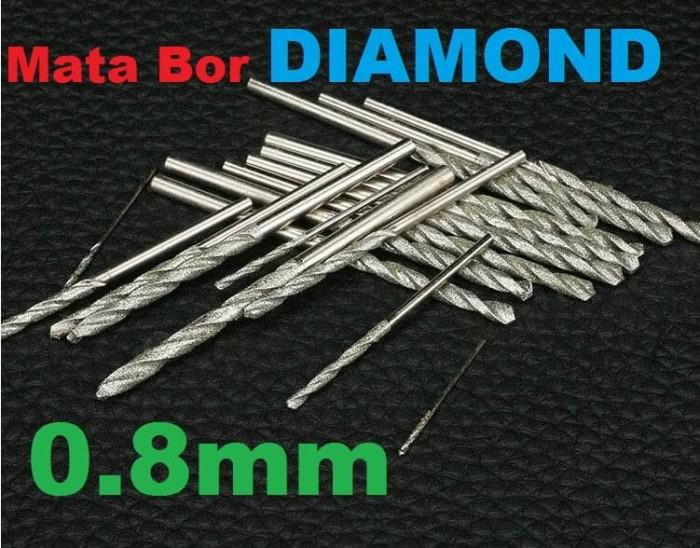 harga Mata bor diamond 0.8mm batu akik kaca keramik granit porcelain *mb08 Tokopedia.com