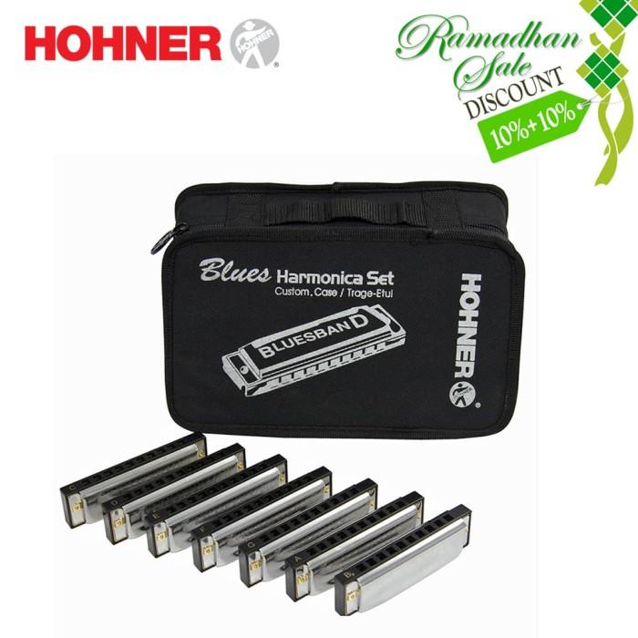 Foto Produk Harmonica Hohner Blues Diatonic Set isi 7 dari Arora Putra Sports Music