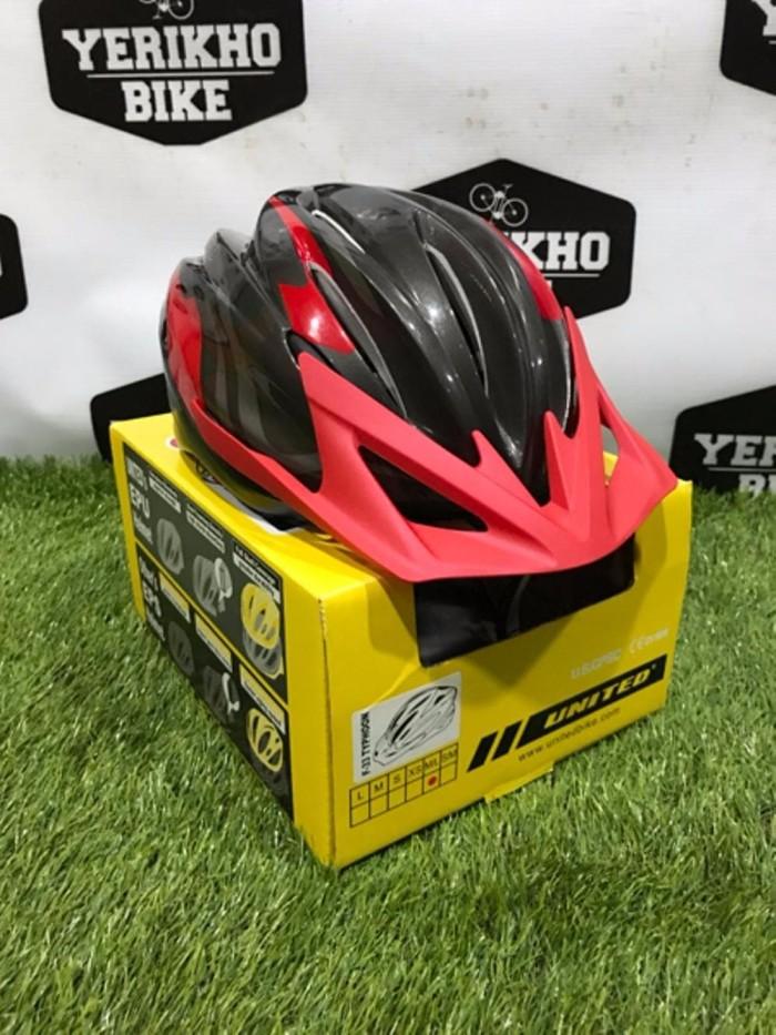 Helm Sepeda Gunung United F22 F33 Raptor BEST HELMET
