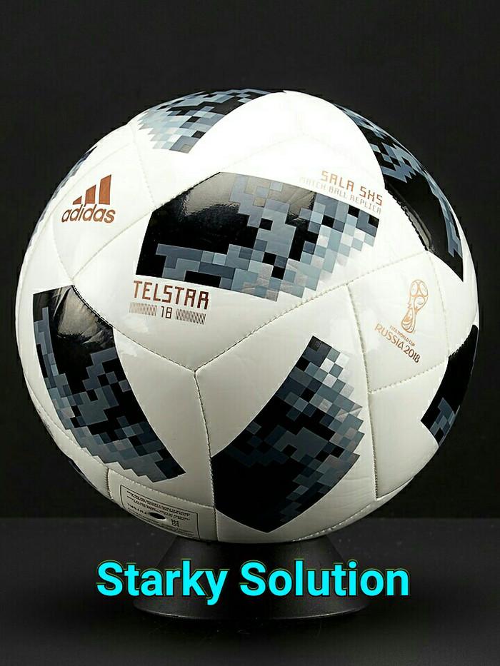 c132d0cf5d0 Jual Bola Futsal ADIDAS TELSTAR 18 SALA 5X5 Original - Jakarta Barat -  Starky solution | Tokopedia