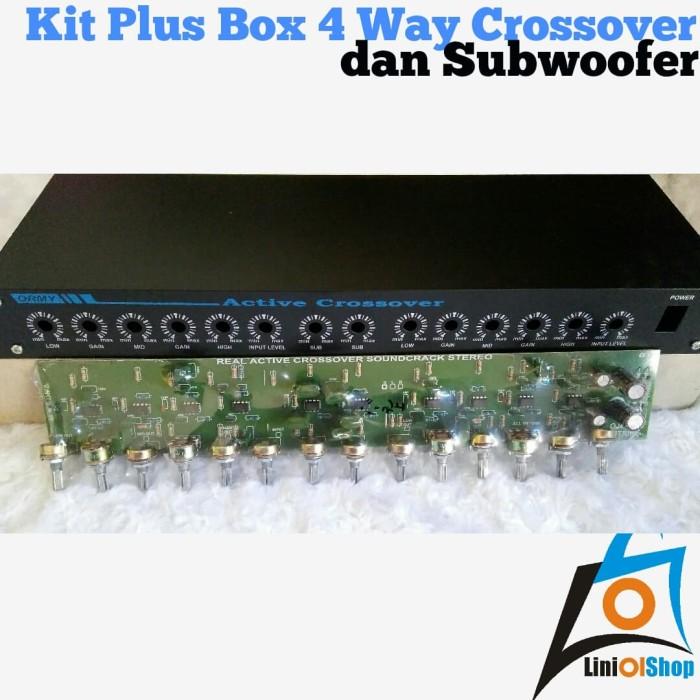 Jual Kit Plus Box 4 Way Crossover dan Subwoofer - Kab  Jember - Lini olshop  | Tokopedia
