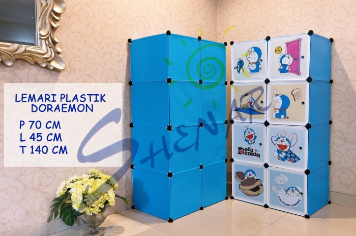 harga Lemari plastik doraemon shenar Tokopedia.com