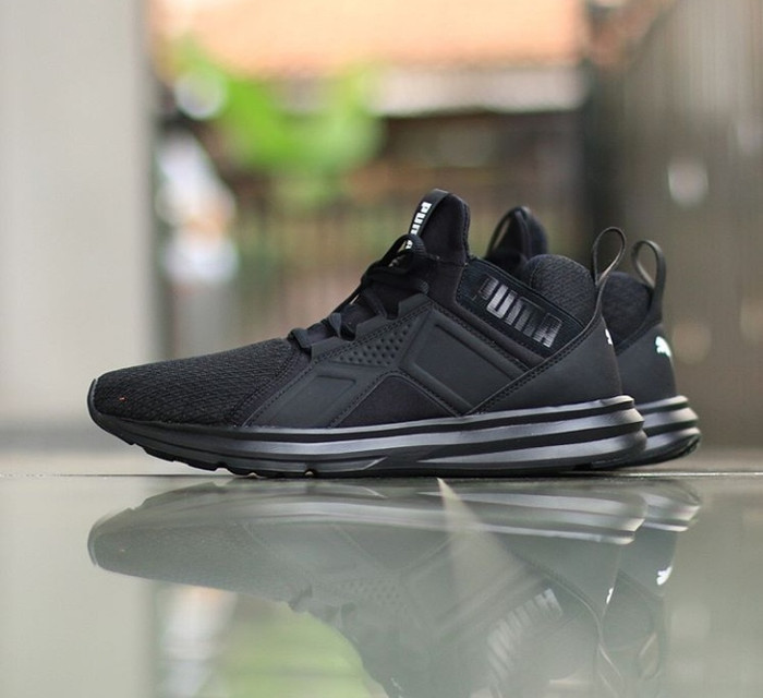 Jual sepatu olahraga original puma enzo mesh full black - Kab ... 52c94c1eb