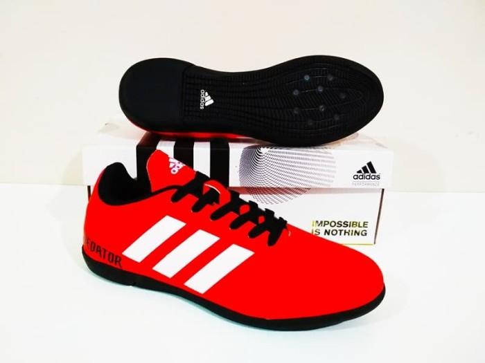 harga Sepatu futal adidas predator 18 ic murah berkualitas (red black) Tokopedia.com