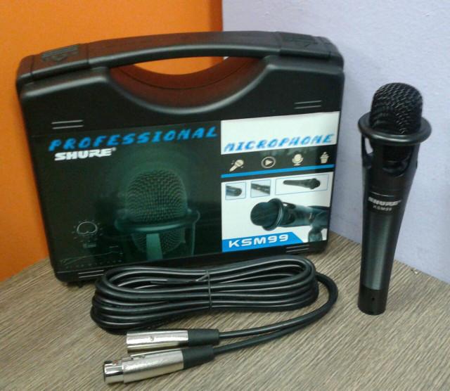 harga Mic shure ksm99 microphone bisa phantom power Tokopedia.com
