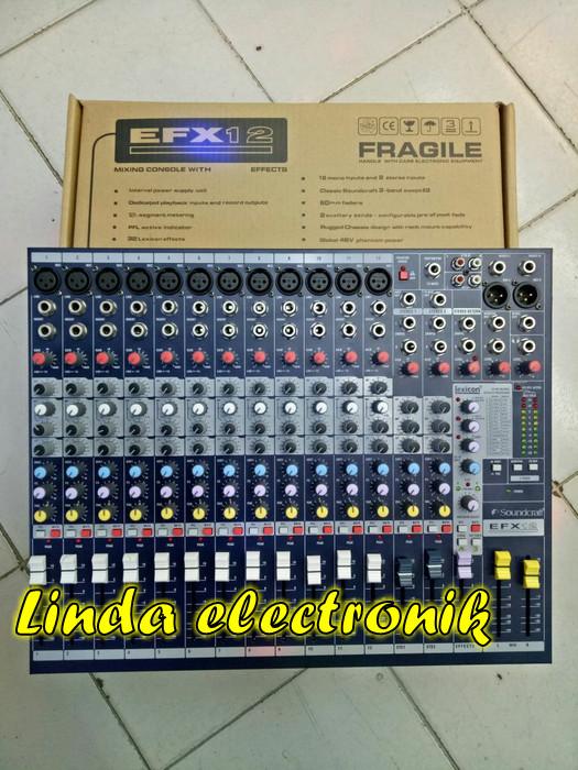 harga Mixer soundcraft efx 12 Tokopedia.com