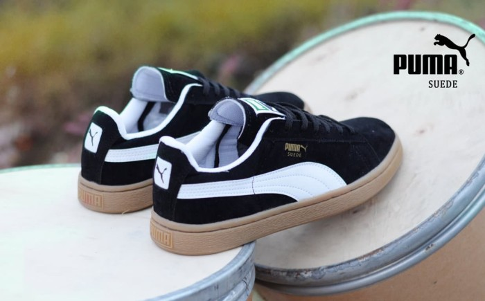 sepatu puma suede gum premium grade original cowo murah sneakers promo