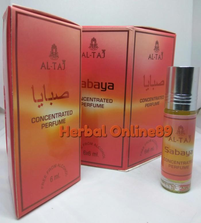 Jual parfum perfume minyak wangi al taj aroma sabaya bukan alrehab 6ml -  DKI Jakarta - herbal online89 | Tokopedia