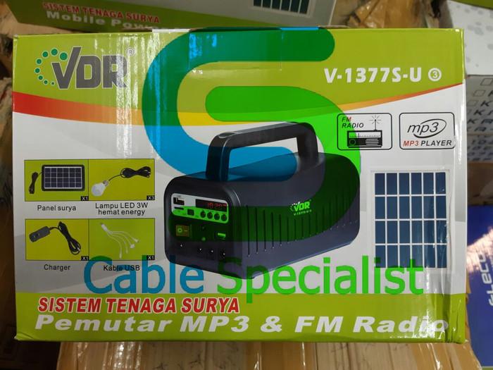 harga Solar panel+mp3+radio vdr v-1377 s Tokopedia.com