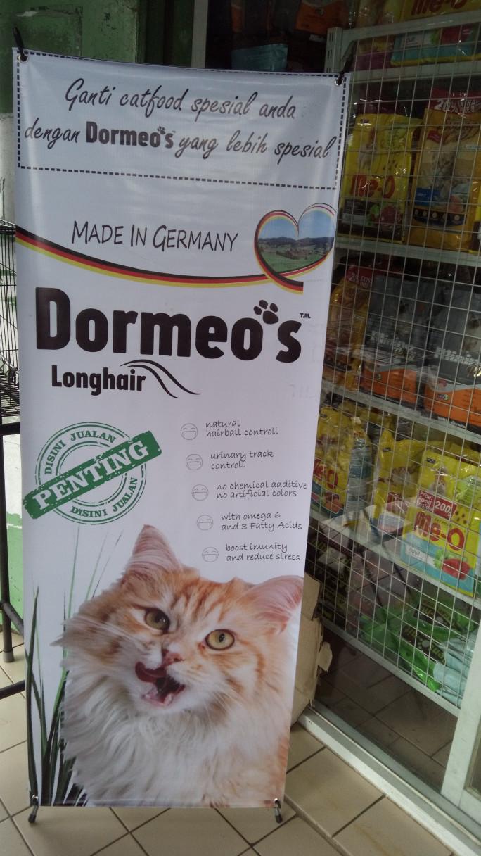 Jual Makanan Kucing Cat Food Dormeos Long Hair Repack 1kg Nice