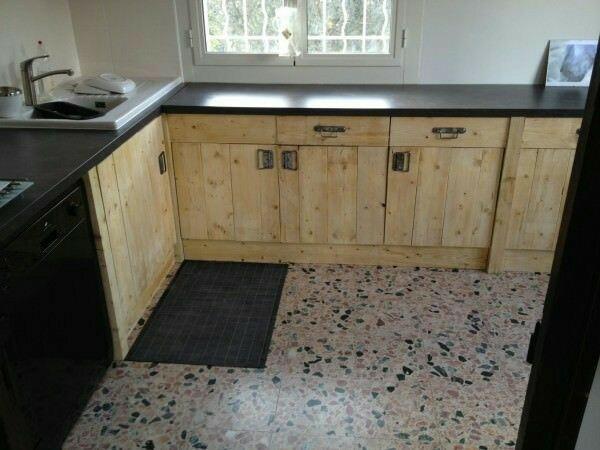 Jual Kitchen Set Kayu Jati Belanda Perabot Rumah Rombong Kayu
