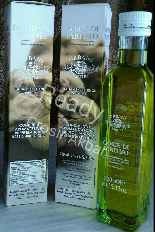 harga Ready urbani truffle oil white 250ml / truffle oil Tokopedia.com