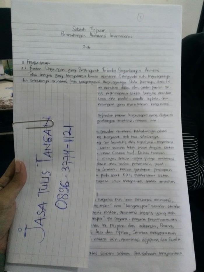Jual Jasa Tulis Tangan Dan Pengetikan Bekasi 0896 3774 1121 Kota Bekasi Tulis Tangan Pengetikan Tokopedia