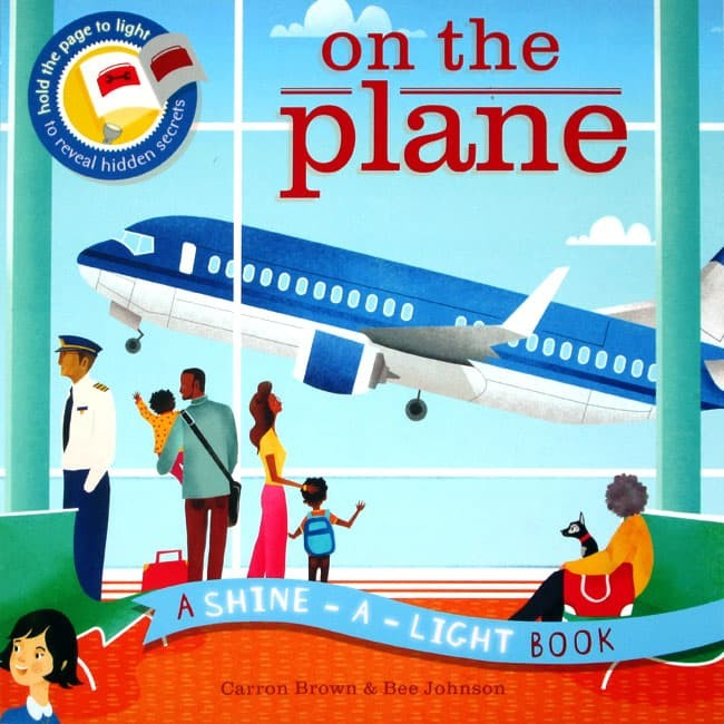 harga On the plane a shine-a-light book (paper back) Tokopedia.com