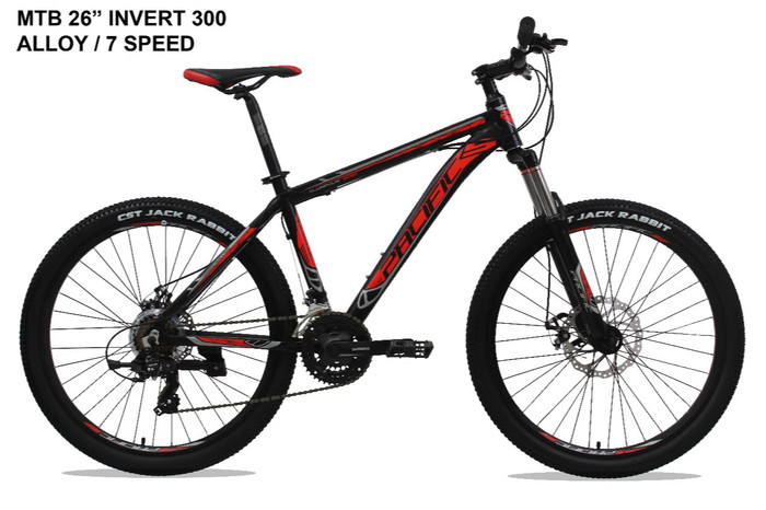 harga Mtb 26  pacific invert 300 21 speed Tokopedia.com