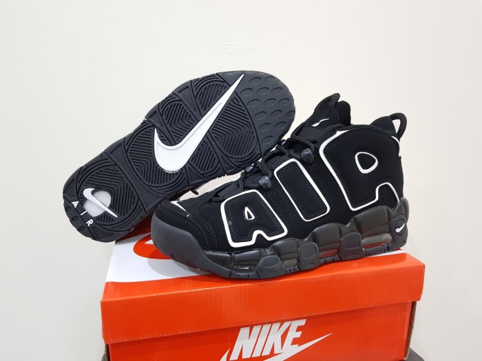 harga Sepatu basket nike air uptempo high black white Tokopedia.com