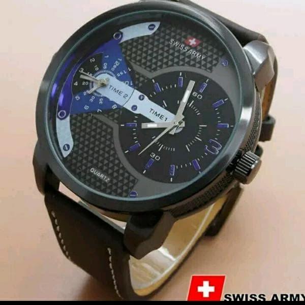 Foto Produk Jam Tangan Pria Elegant Swiss Army Premium Limited Murah dari TOKO CASE COVER BAROKAH