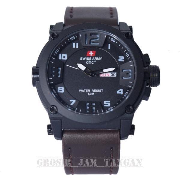 Foto Produk jam tangan pria / cowok Swiss Army model terbaru harga Murah dari TOKO CASE COVER BAROKAH