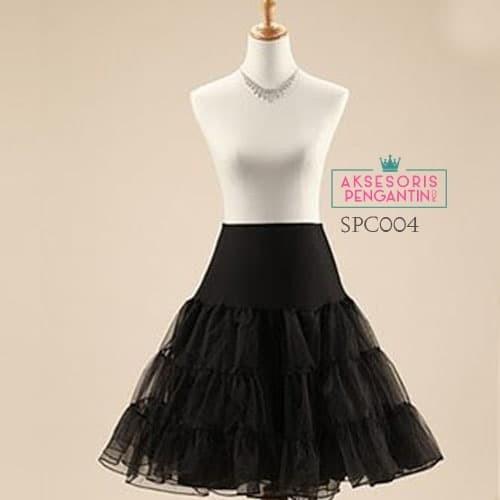harga Rok tutu pengembang dress hitam l rok petticoat gaun pesta - spc 004 Tokopedia.com