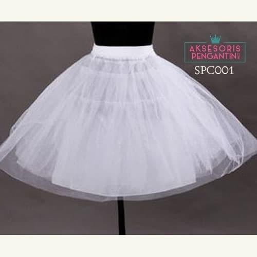 harga Petticoat pengembang rok mini dress l rok tutu balet putih - spc 001 Tokopedia.com