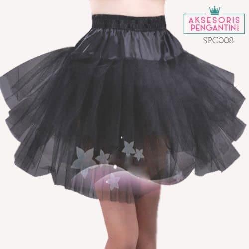 harga Rok tutu hitam bridal l petticoat pengembang (3layer) l lenka - spc008 Tokopedia.com