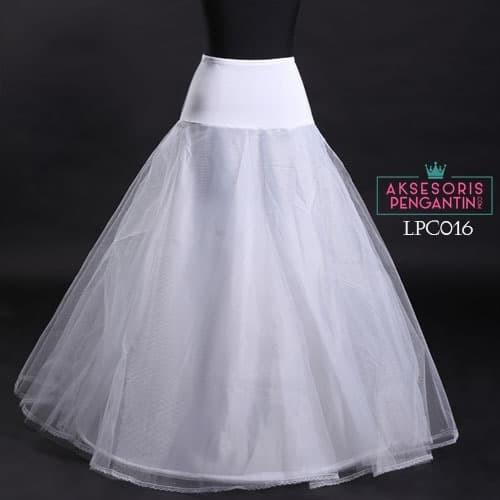 harga Wedding petticoat lolita (1ring) l rok dalaman gaun pengantin -lpc 016 Tokopedia.com