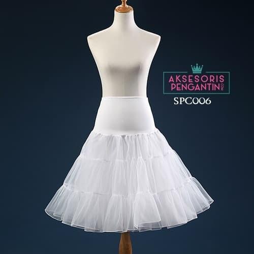 harga Rok tutu rok pengembang dress putih l rok petticoat gaun pesta-spc 006 Tokopedia.com