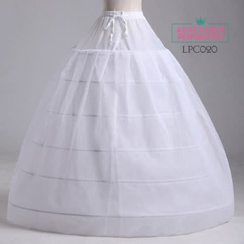 harga Petticoat wedding gown-rok pengembang gaun pengantin6ring1layer-lpc020 Tokopedia.com